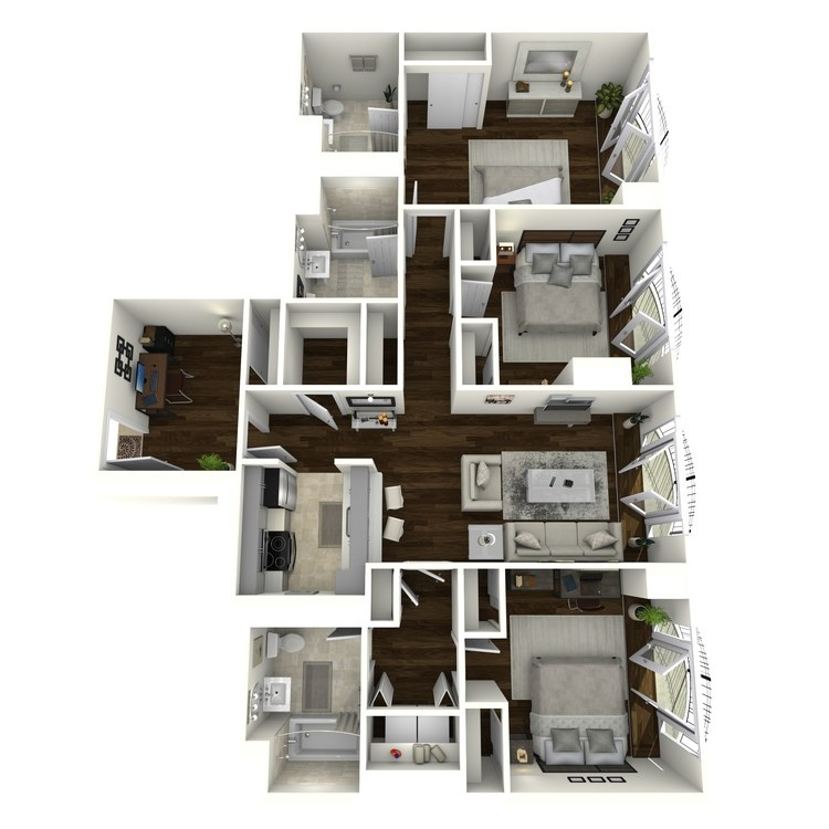 Floor plan image of Bedford