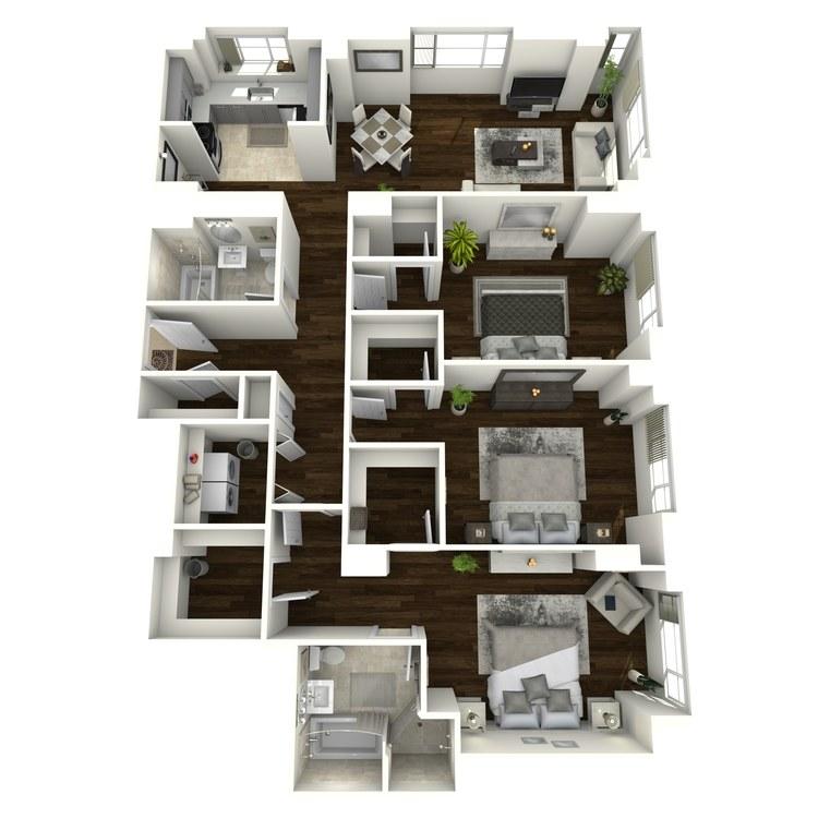 Floor plan image of Waldorf