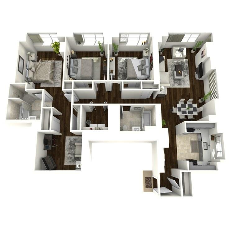 Floor plan image of Broadway