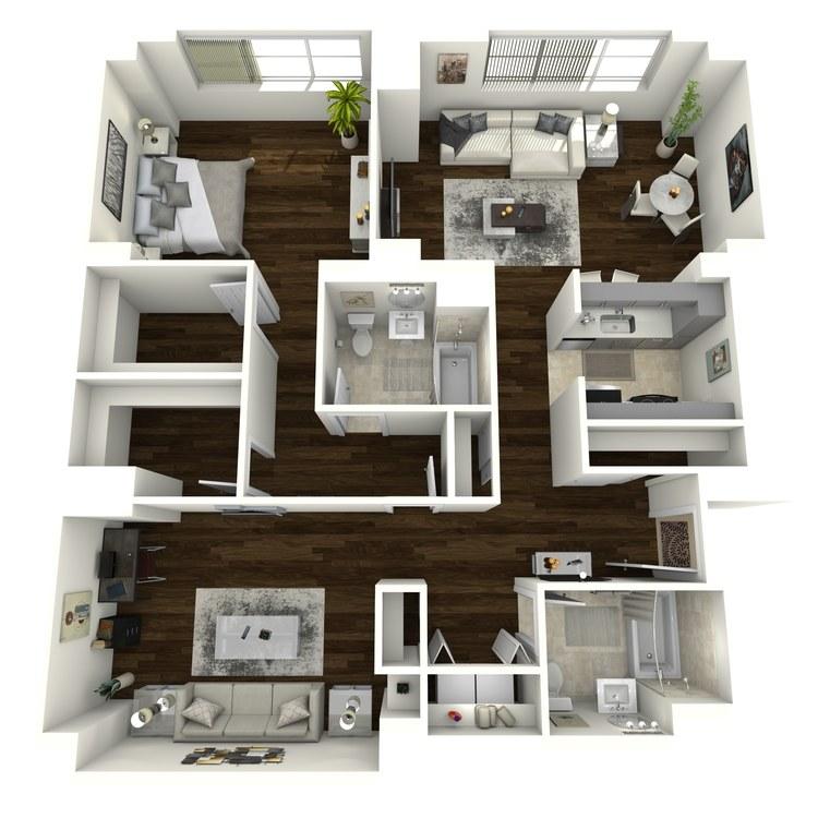 Floor plan image of Plaza