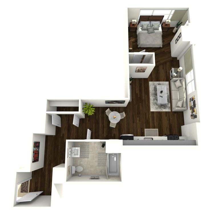 Floor plan image of Vanderbilt