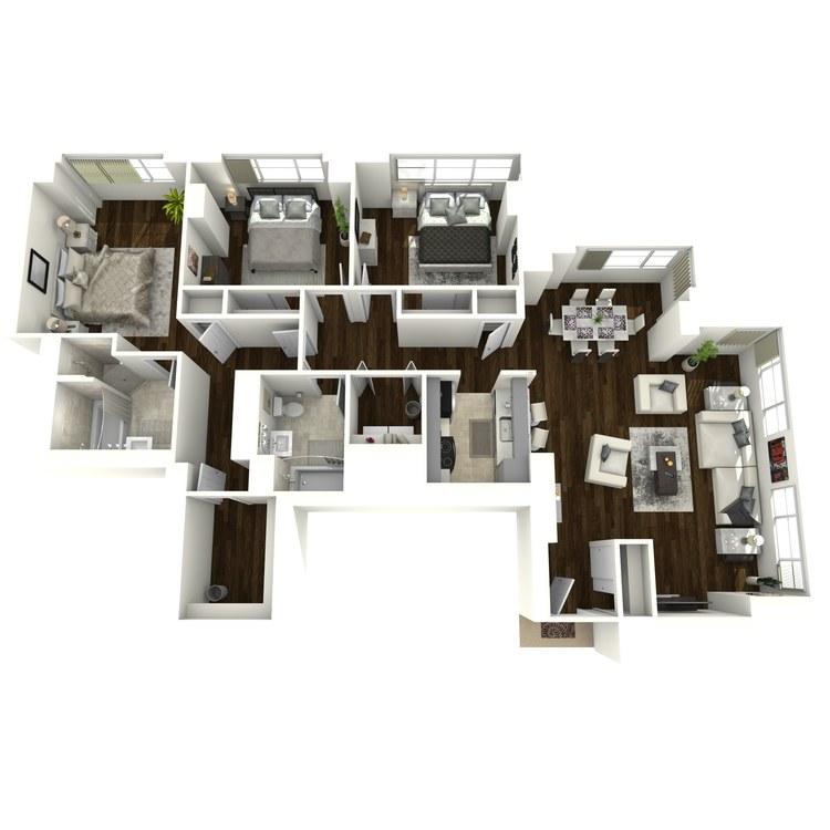 Floor plan image of Bentley