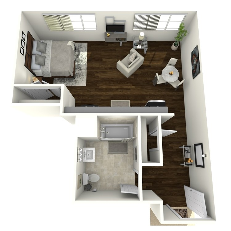 Floor plan image of Saxon