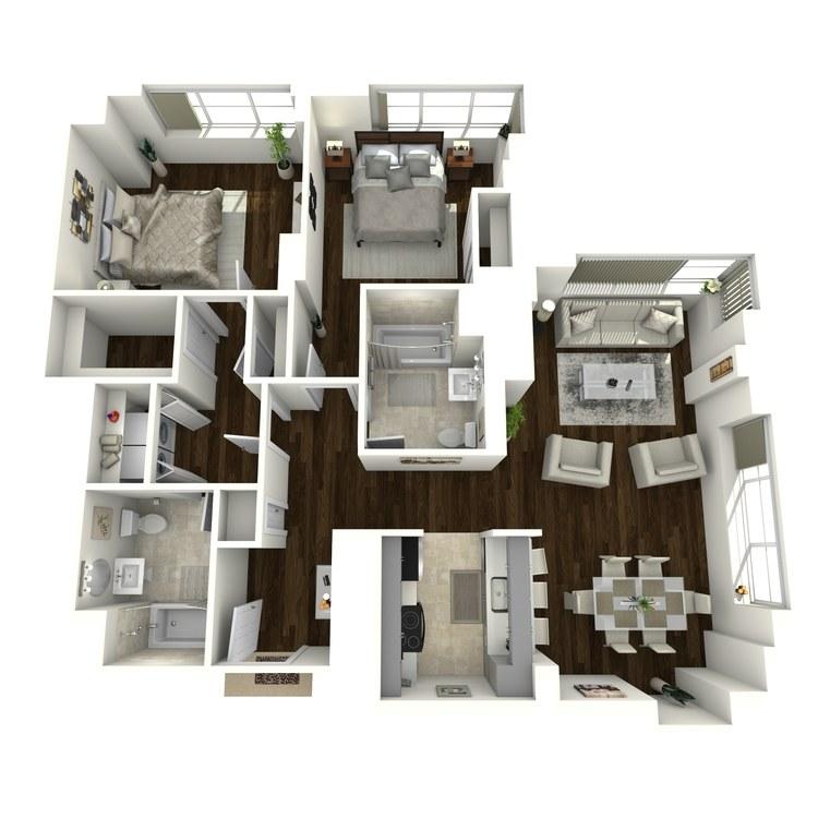 Floor plan image of Ritz