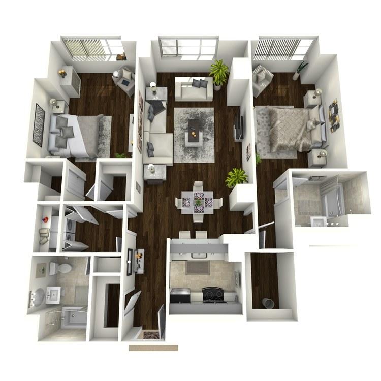 Floor plan image of Royalton