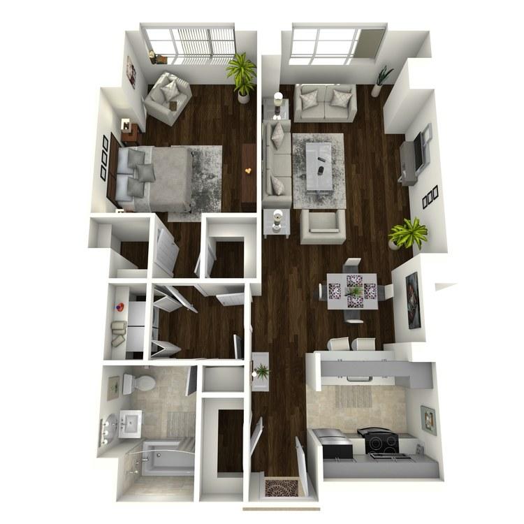 Floor plan image of Meridian