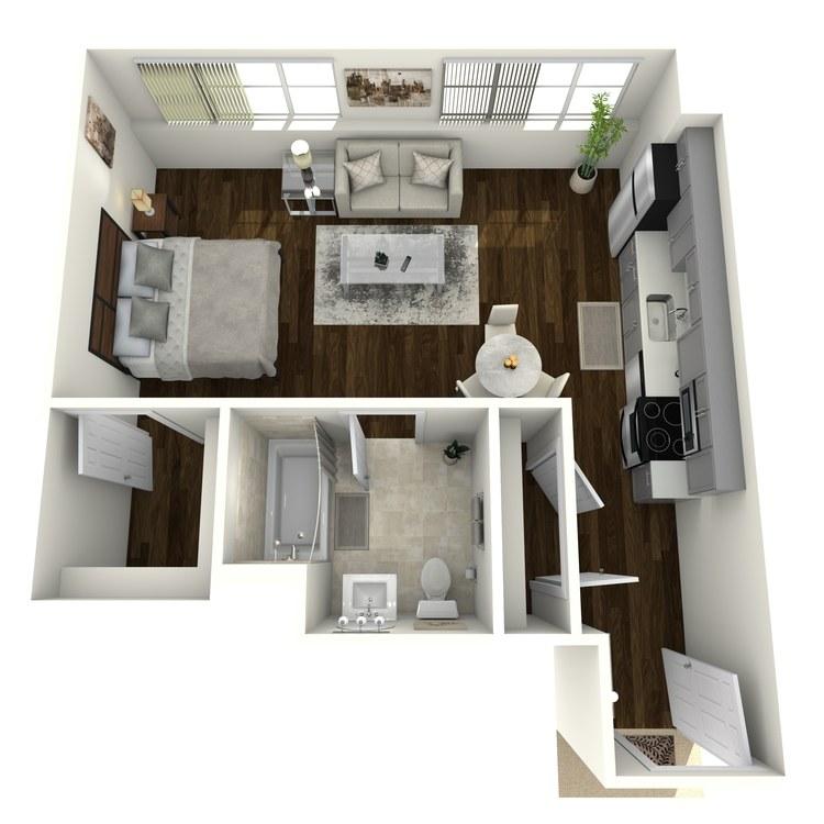 Floor plan image of Bonneville