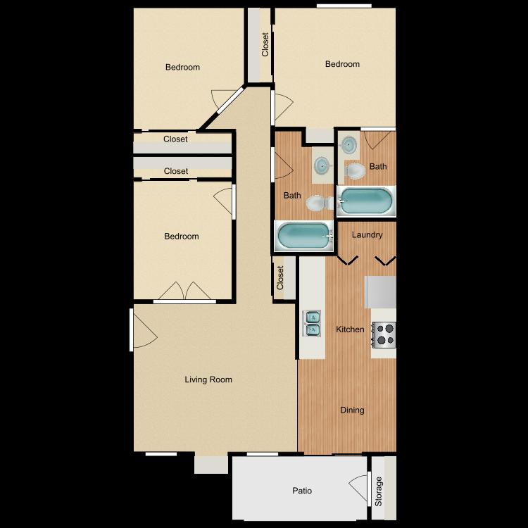 Floor plan image of Sandpointe