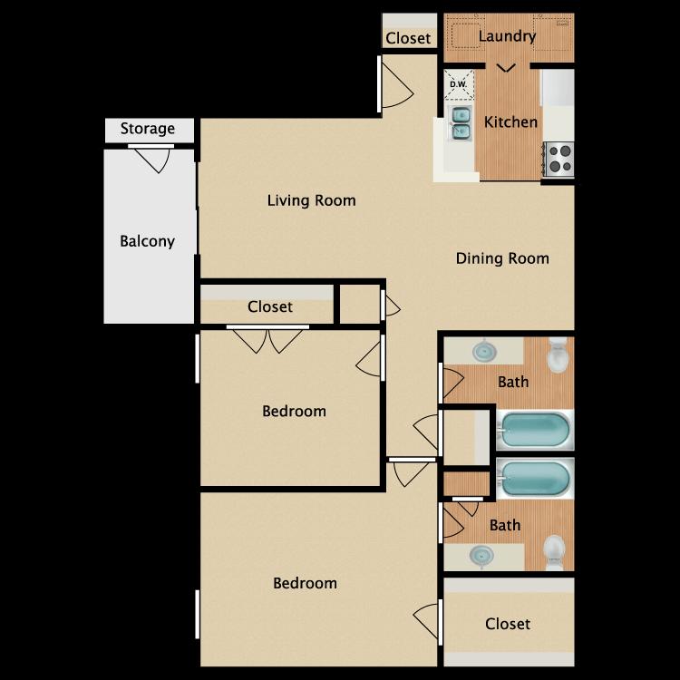 Floor plan image of Plan C