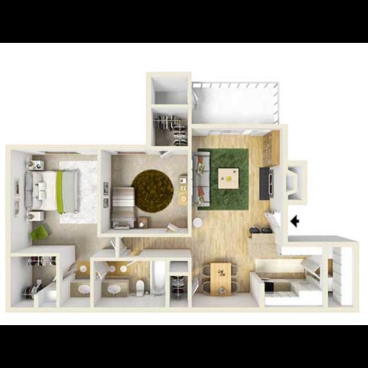 Floor plan image of B1FP