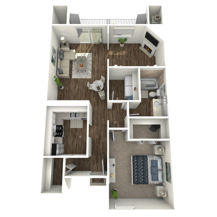 Floor plan image of A2D