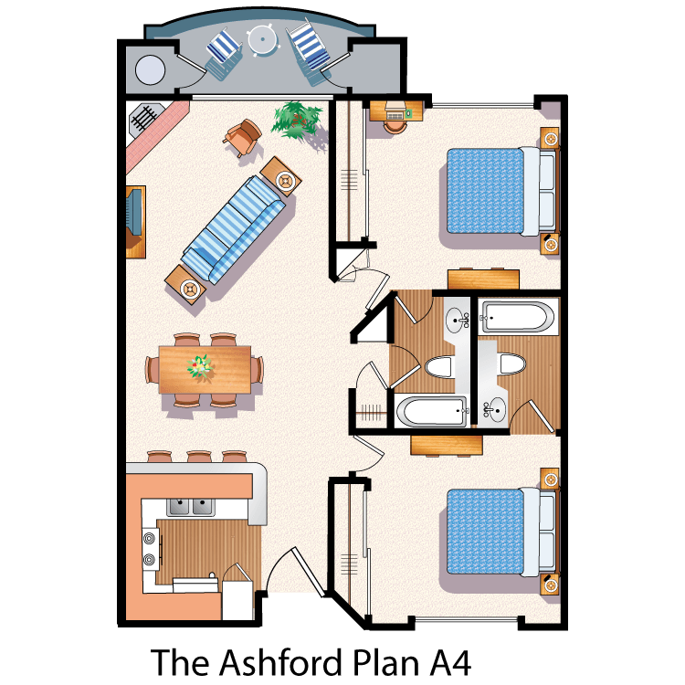 Floor plan image of The Ashford A4