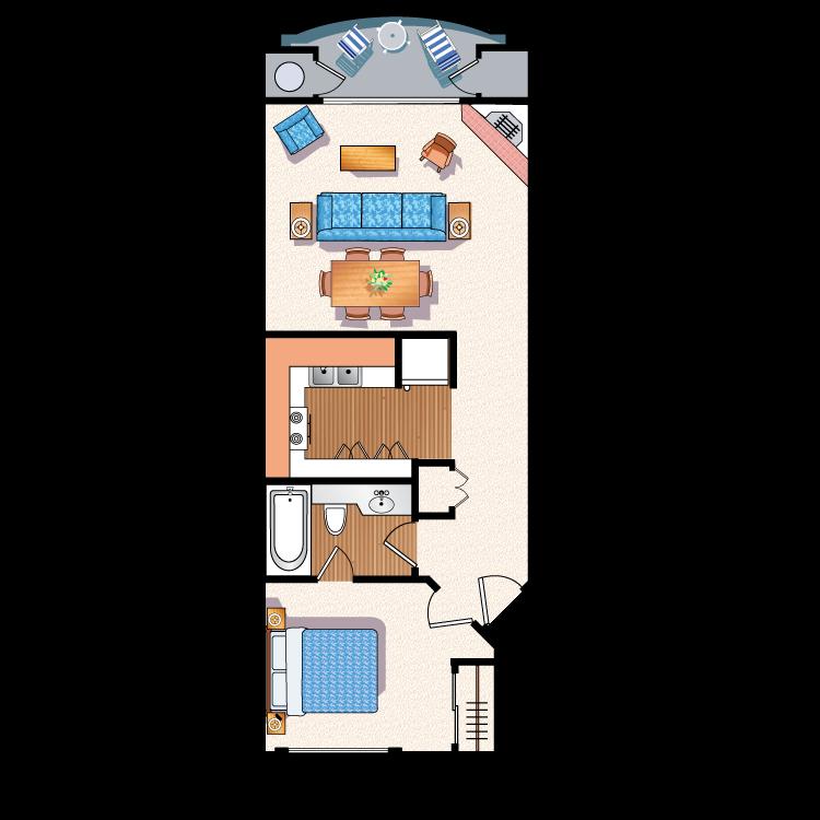 Floor plan image of The Barrington B5
