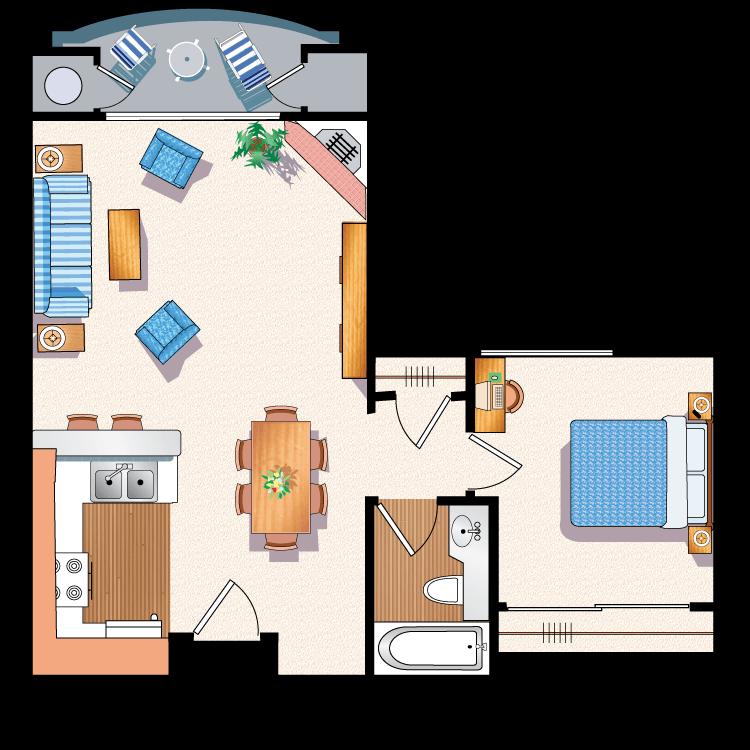 Floor plan image of The Barrington B8