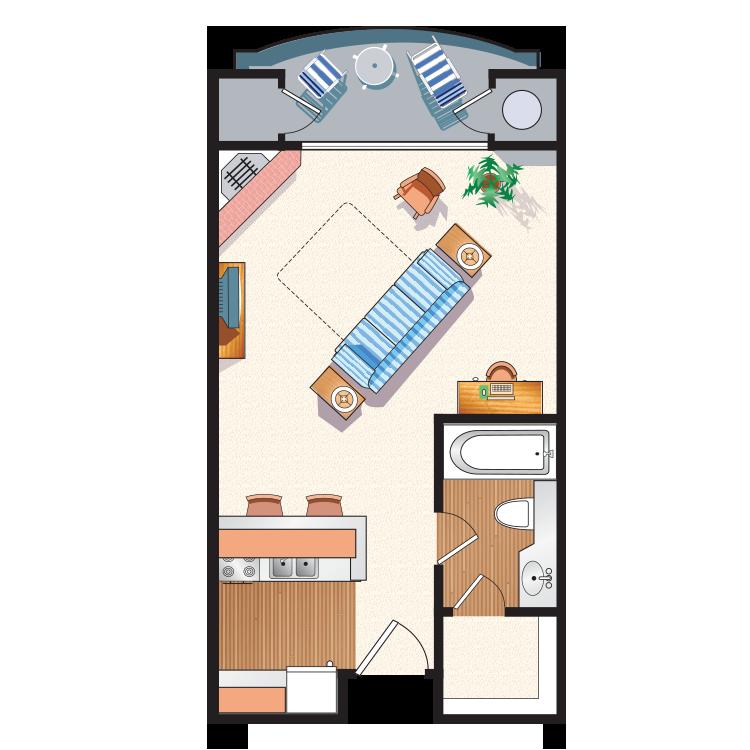Floor plan image of The Junior  J1