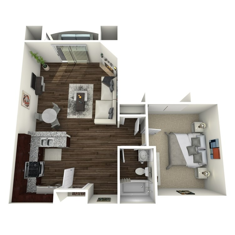 Floor plan image of The Barrington B8