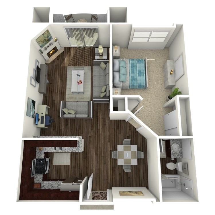 Floor plan image of The Barrington B4