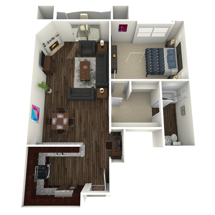 Floor plan image of The Barrington B6