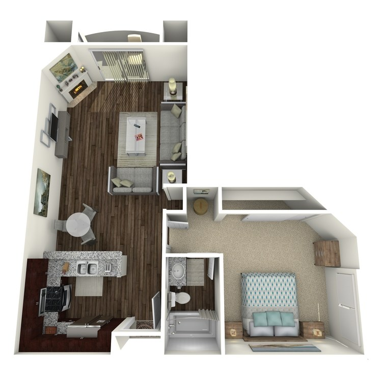 Floor plan image of The Barrington B2