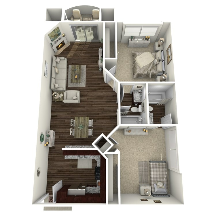 Floor plan image of The Ashford A2