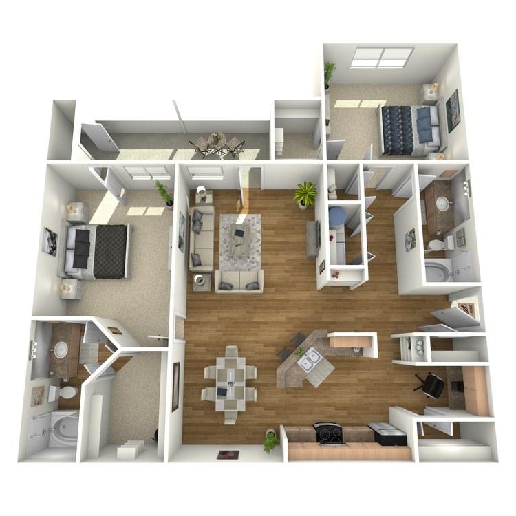 Floor plan image of B4G