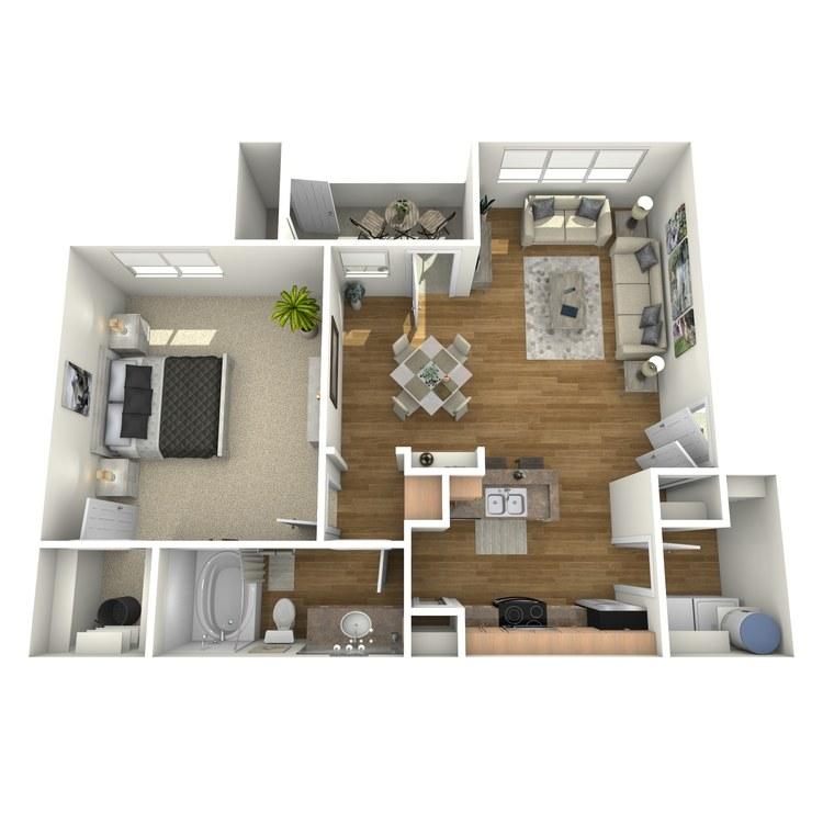 Floor plan image of A3