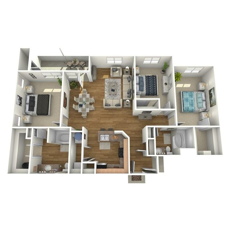 Floor plan image of C1GR