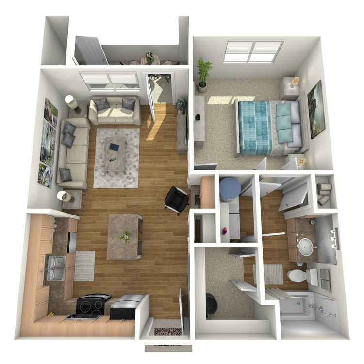 Floor plan image of A1A