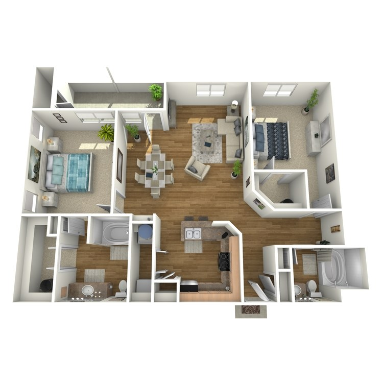 Floor plan image of B5R