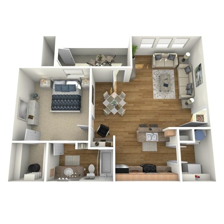Floor plan image of A2R