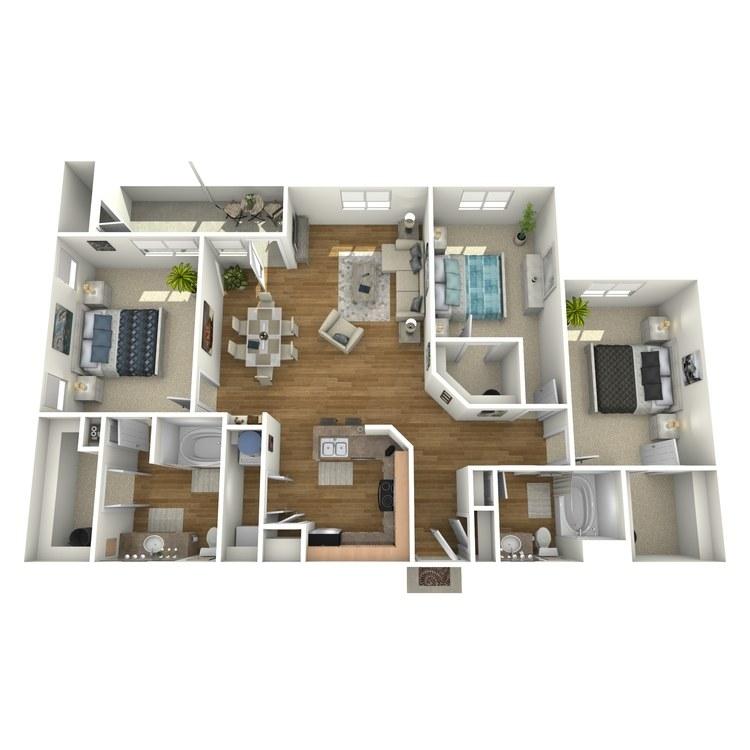 Floor plan image of C2R