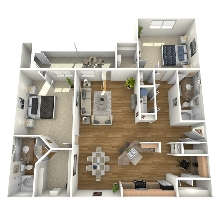 Floor plan image of B4GR