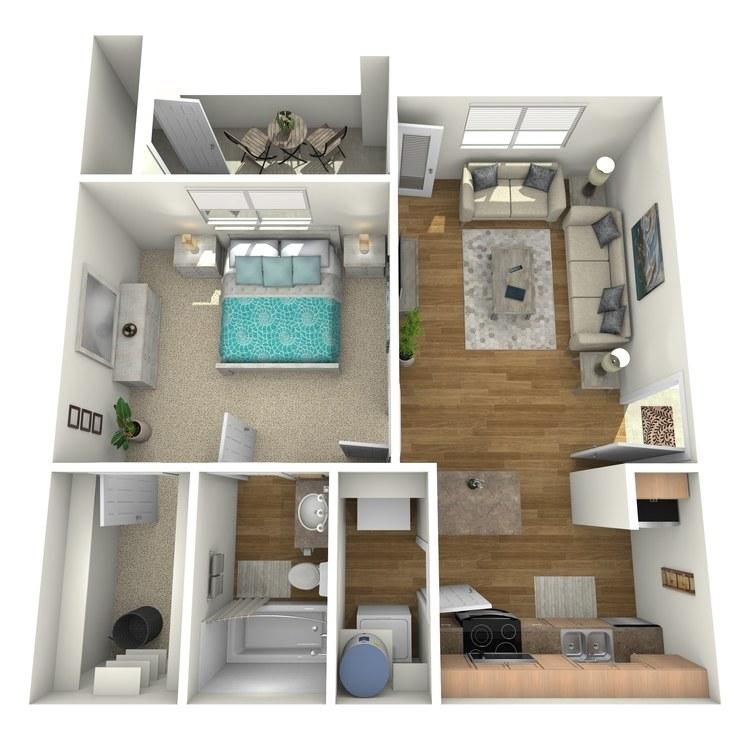 Floor plan image of A1R