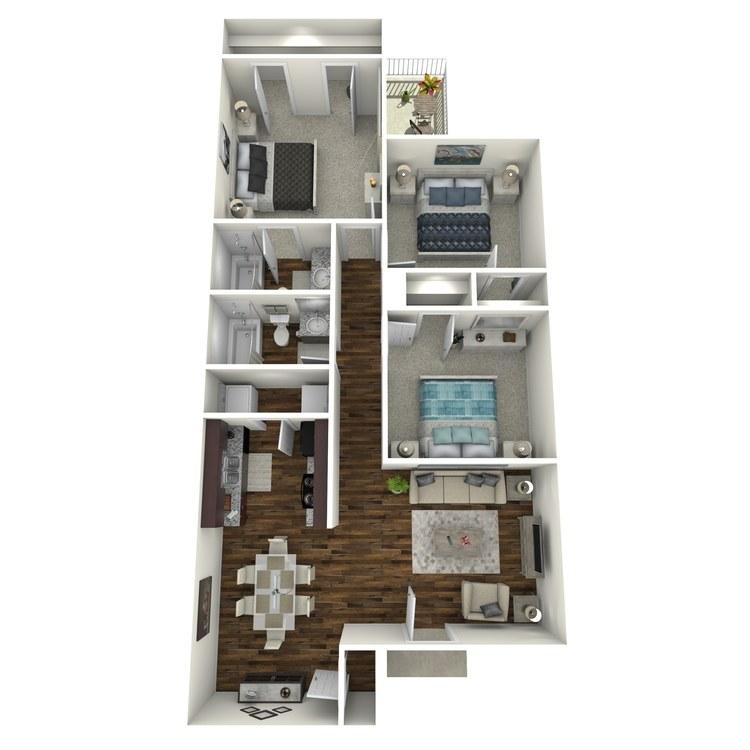 Floor plan image of Forestdale