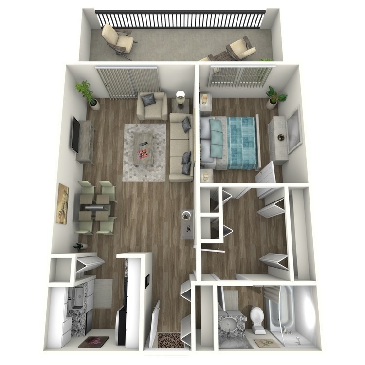 Floor plan image of Atlanta Contemporary