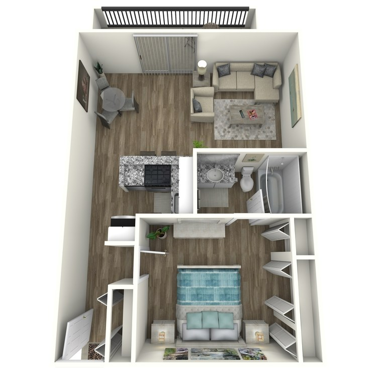 Floor plan image of Beltline Contemporary
