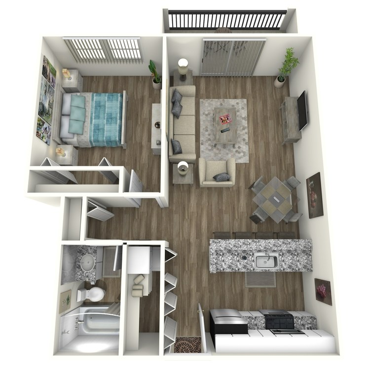 Floor plan image of Buckhead Contemporary