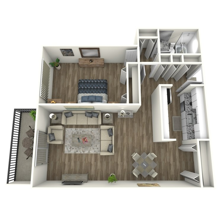 Floor plan image of Druid Hills Contemporary