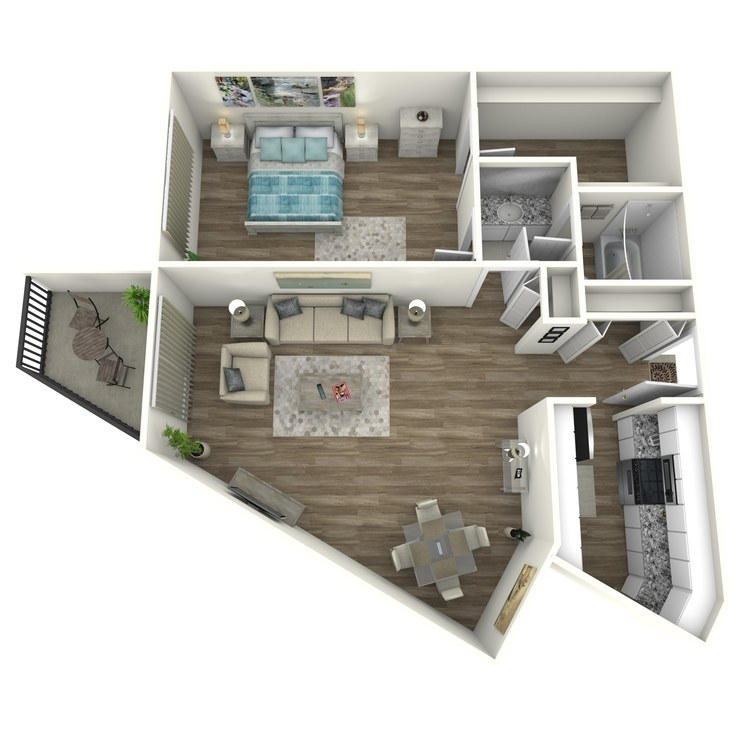 Floor plan image of Edgewood Modern