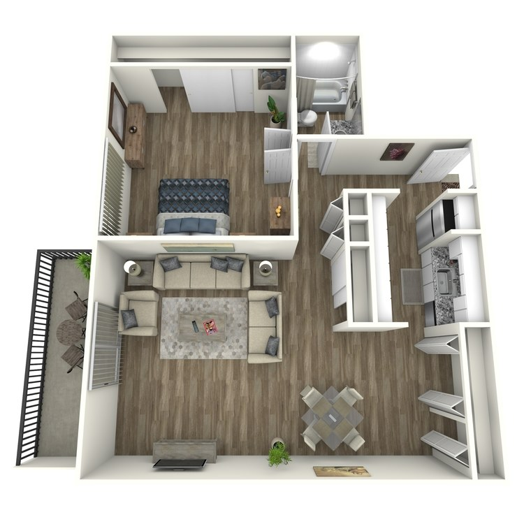 Floor plan image of Highlands Modern
