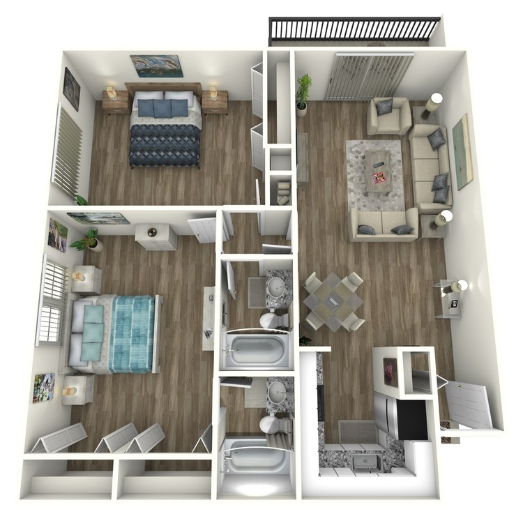 Floor plan image of Midtown Contemporary