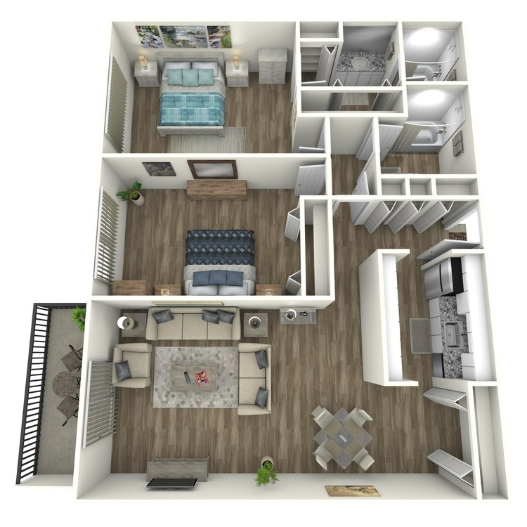 Floor plan image of Morningside Contemporary