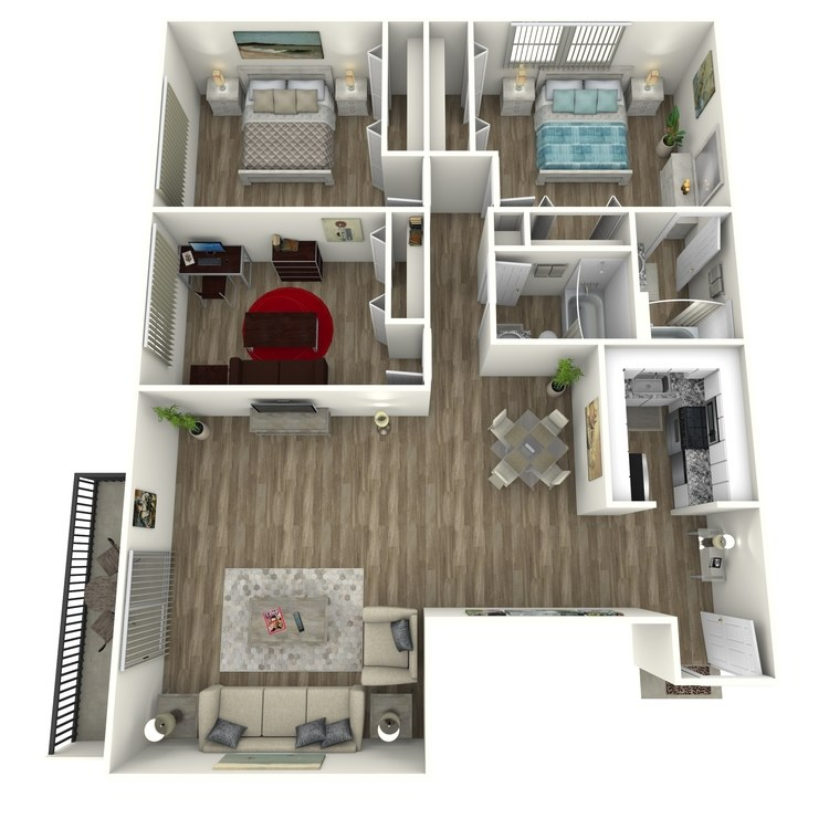 Floor plan image of Peachtree Contemporary