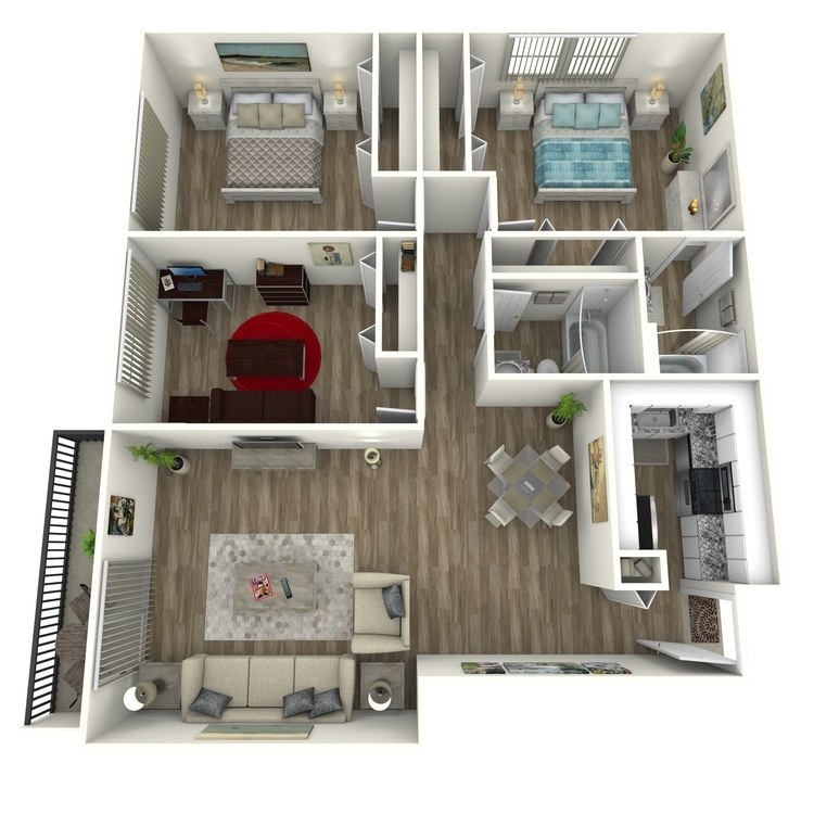 Floor plan image of West Paces Contemporary