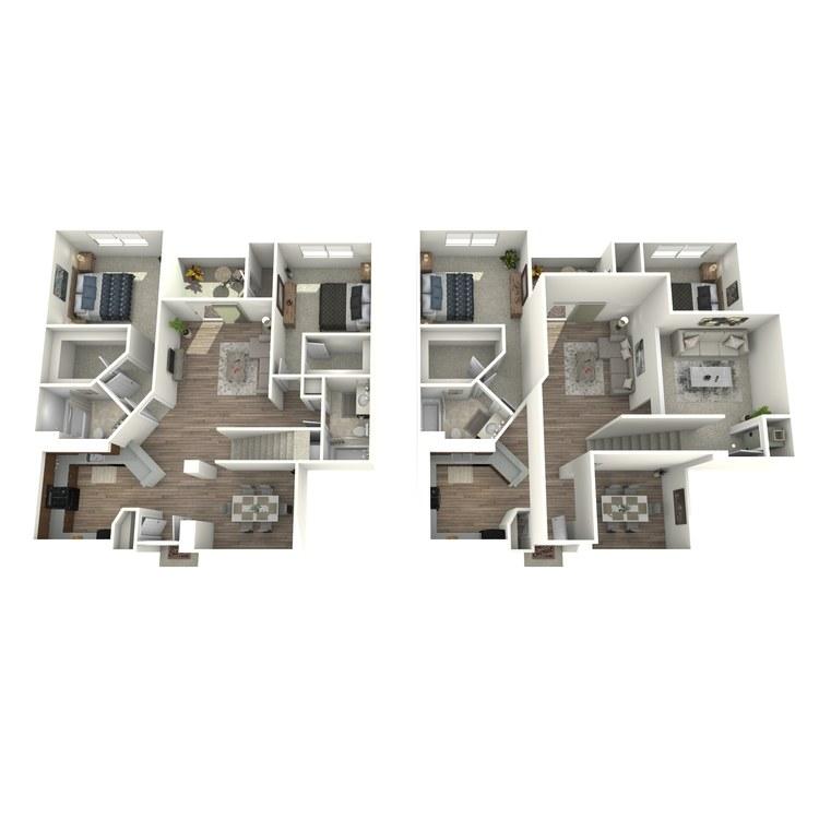 Floor plan image of B5L