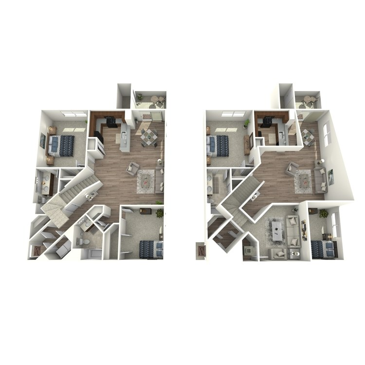Floor plan image of B3L