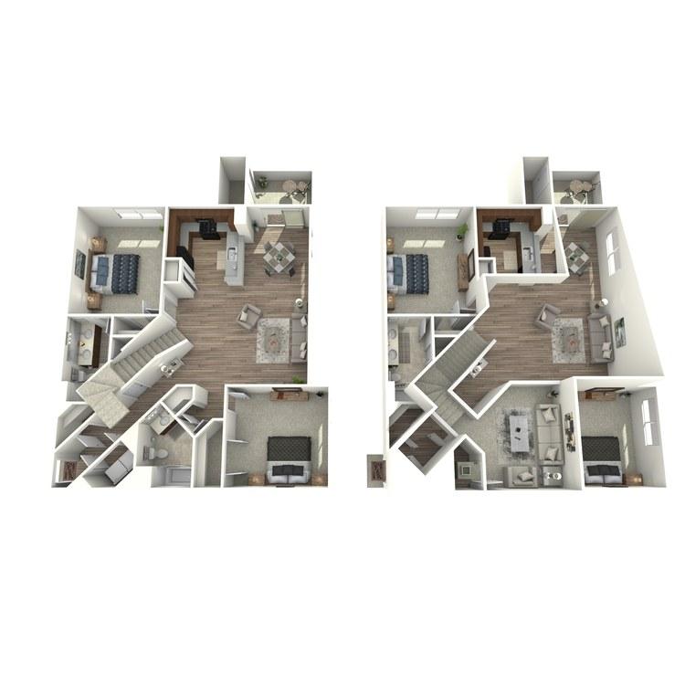 Floor plan image of B4L