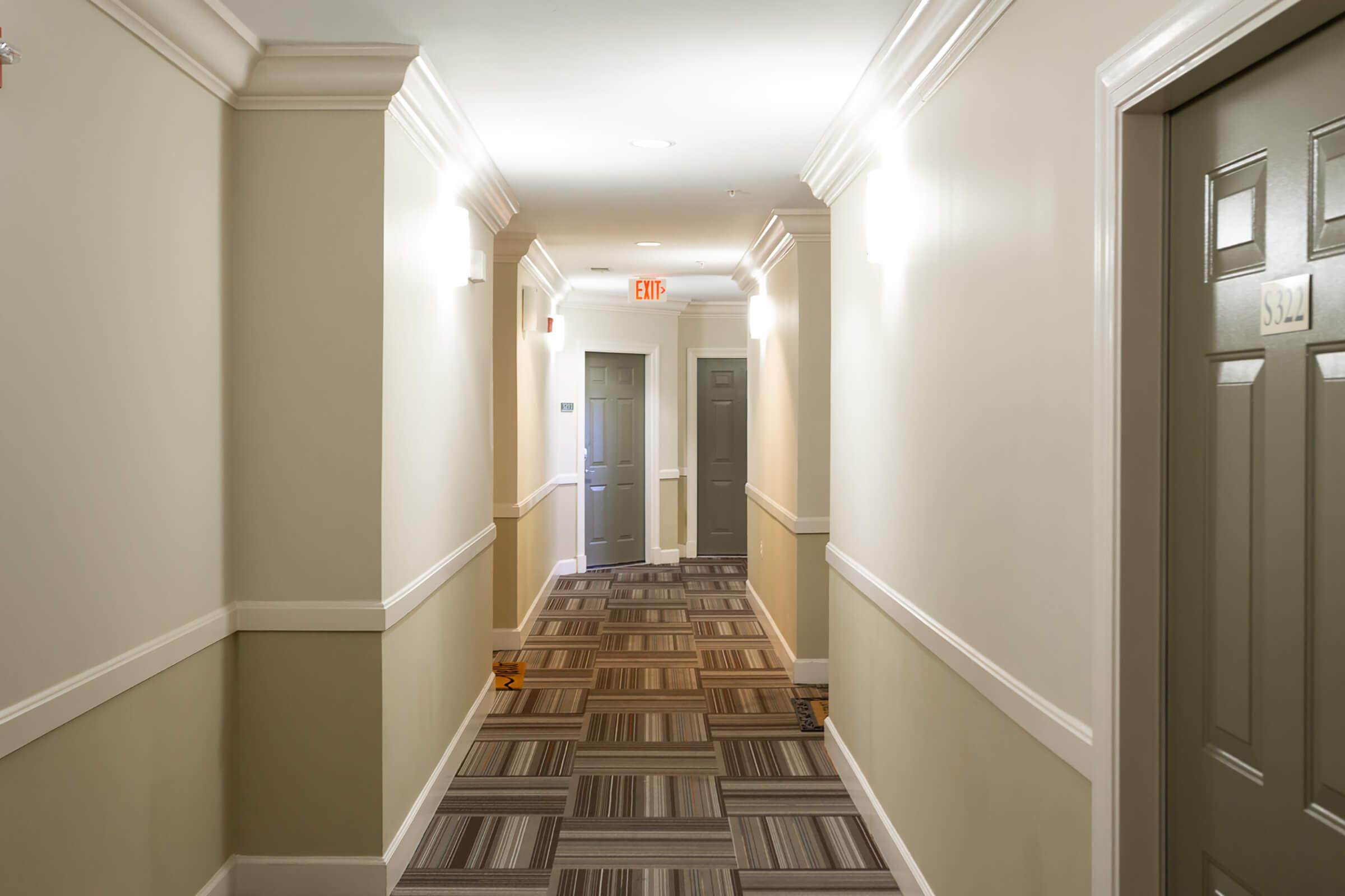 Hallway at The Rothbury in Gaithersburg, MD