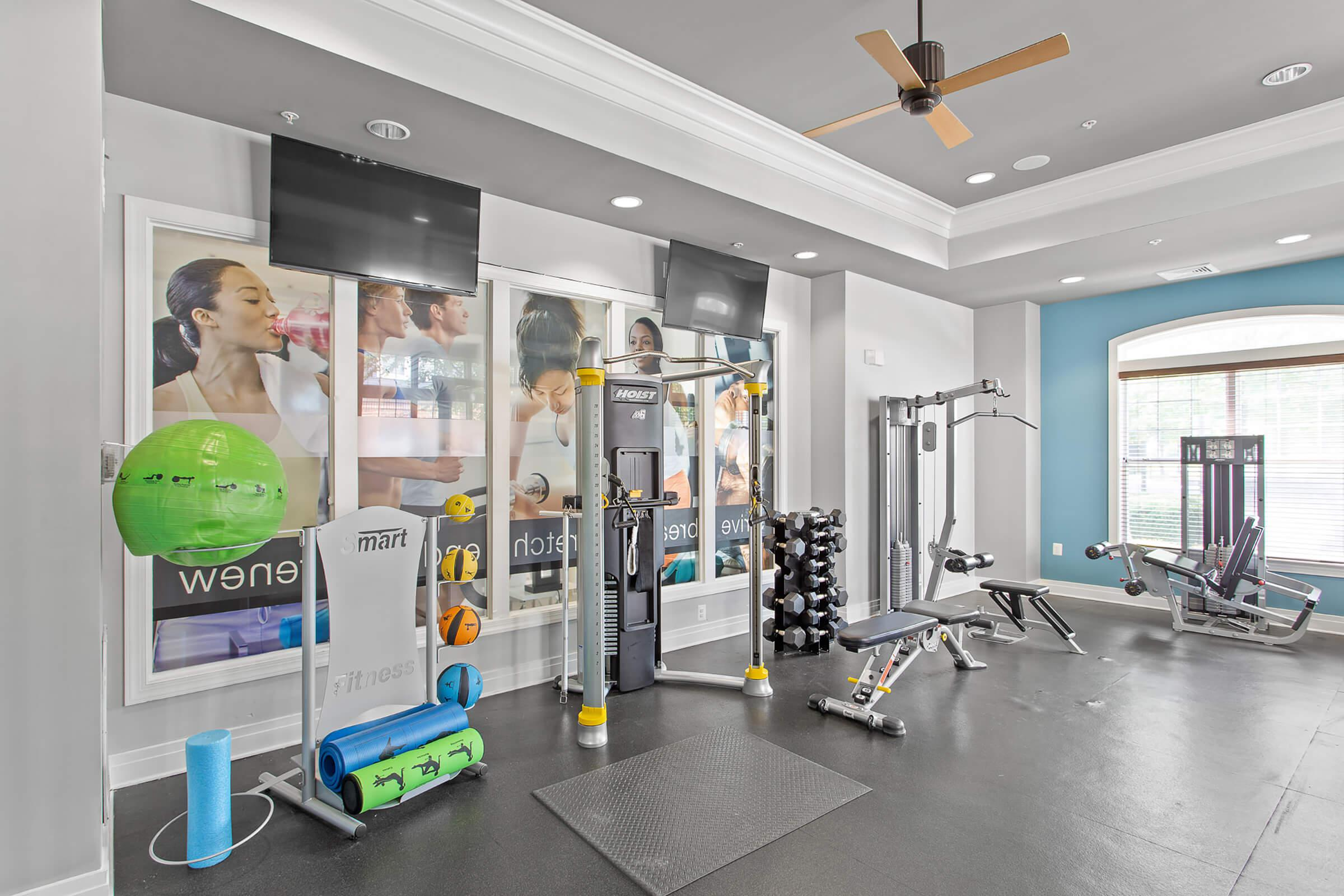 Fitness Center at The Rothbury in Gaithersburg, MD