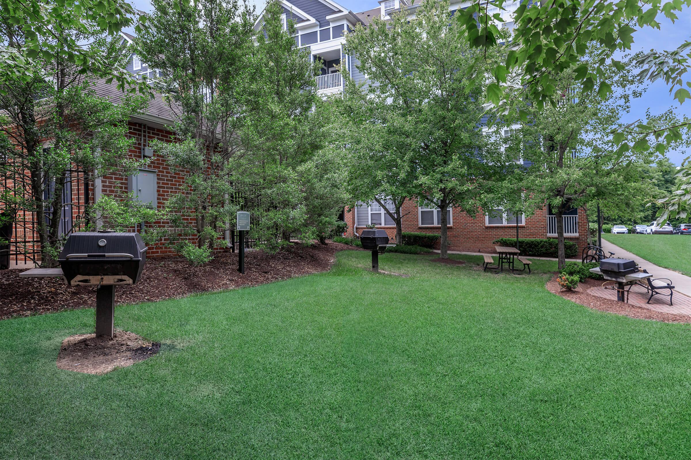 Landscaping at The Rothbury in Gaithersburg, MD